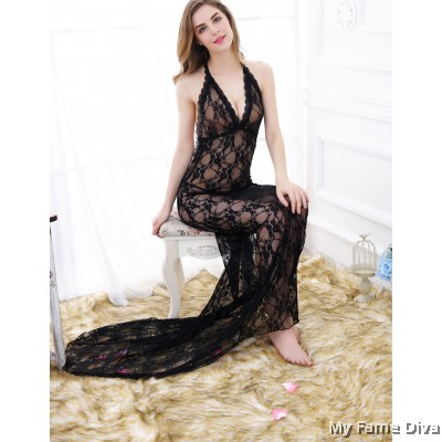 Bridal Lingerie : Long Night Gown For the Night