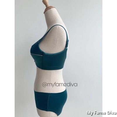 French Satini Set - Turquoise