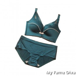 French Satini Set - Turquoise