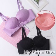 3D Scallop Lace Set - PURPLE