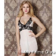 PLUS SIZE : Pretty in Nude Lacey