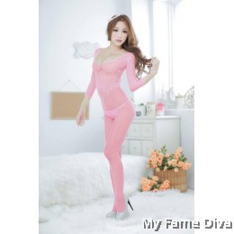 Bodystocking : Mysterious D'Fleur in Long Sleeve