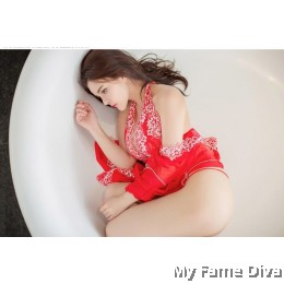 Oriental Beauty : Daring Geisha D'Fleur Robe & Dress Set