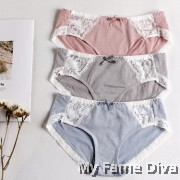 Trimmie Low Raise Seamless COTTON Panties