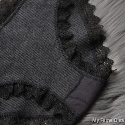 Triangle Low Raise COTTON Panties