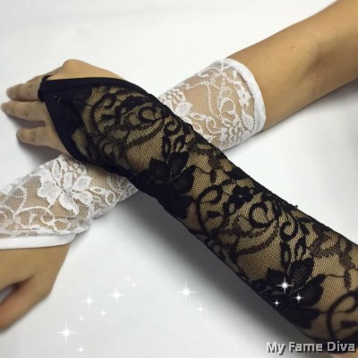 Sexy Lace Hand Gloves