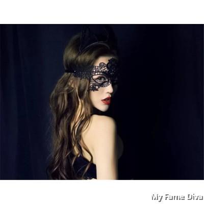 Sexy Mystique Lacey Eye Mask